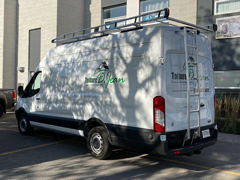 Support Toit Alurack Prime Design pour Fourgon Ford